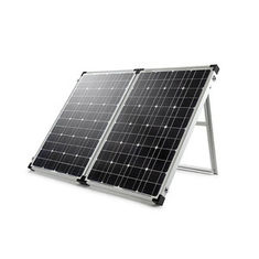 100 Watt 12V 	Solid Solar Panel 2Pcs 100W Solar Panel Kit Built In Kickstand