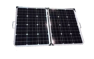 Aluminium Frame  Solid Solar Panel Durable Waterproof Stable Performance
